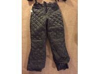 New Motorcycle Trousers - CraneRoad, zipped-in quilted liner, knee shields, Size M