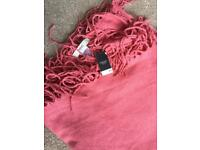 Pink Next scarf brand new with tags