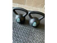 8 kg kettle bell 2 x 4 kg both very nice and clean all look pic nearly brand new