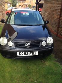 vwpolo twist tdi 1400cc 2003 model 4 door clean in and out new mot £850 vno
