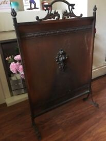 Arts And Crafts Copper Fire Screen- delivery or collection