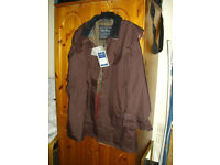 New Jack Murphy hertitage collection size 18 womens country coat, dark burgundy colour