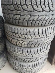 4 winter tires hankook I pike 235/55r18
