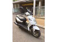 2012 Sym Simply 125cc White £850
