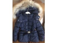 Girls winter moncler coat