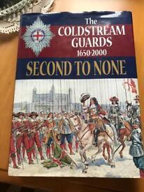 Coldstream Guards Hard Back Book