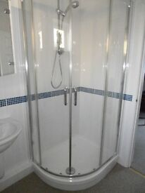 Image Ultra Shower Screen and Base Tray