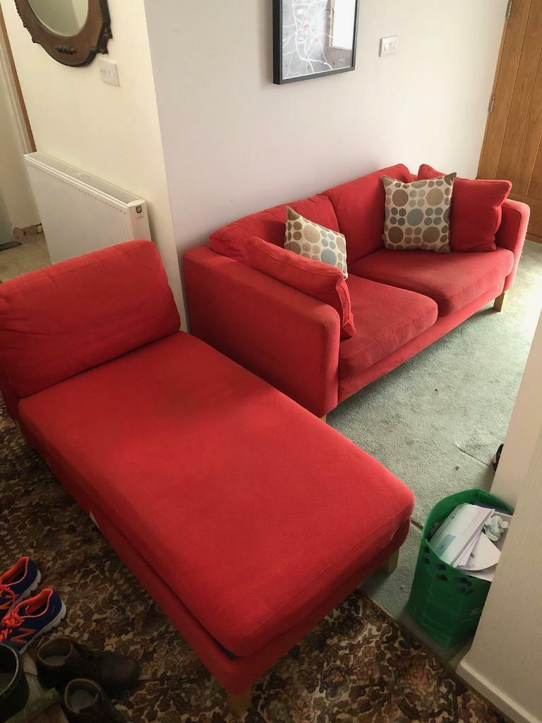 Ikea sofa (Karlstad)   in Hitchin, Hertfordshire   Gumtree