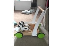 Hape wooden walker - excellent condition ******