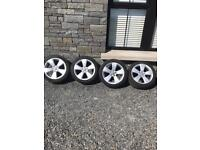 Audi A3 sport alloys with tyres