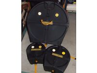 """HardCase drum cases: 22"""", 13"""", 10"""" - pristine condition, used twice only"""