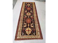 Masterprice Super Quality Hand Woven Persian Runner Rug Meshkin 290x105cm