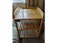 Baby changing table - John Lewis Anna