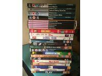 DVDs of acclaimed films - Michael Haneke, Abbas Kiarostami, Derek Jarman, Theo Angelopoulos, etc.