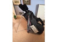Golf clubs and bag - great starter set