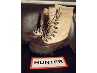 Hunter Breckinridge Leather Boots Size 4 (37)