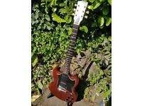 GIBSON SG SPECIAL IN WORN / FADED BROWN 2004