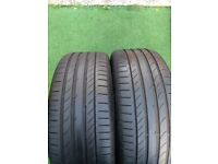 Pair of 245 45 19 Tyres with 8mm Tread in West London Area