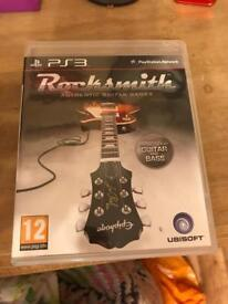 Rocksmith for PS3 with realtone cable