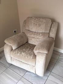 Harvey's electric reclining chair HUGE PRICE REDUCTION
