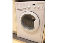 INDESIT IWDD6105B Washer Dryer - 6kg Load - 1000 RPM Spin - B Energy Rating - White