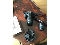 Canon EOS 550D with 18-55 and EF 70-300 f/4.5.6 DO IS USM lens