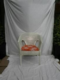 New Revamped Wicker Chair