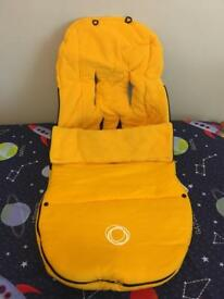 Bugaboo universal yellow foot muff cozy toes