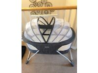Baby travel cot icl blanket,mosquito protectior in very good condition.