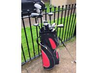 GOLF CLUBSAND BAG GREAT CONDITION