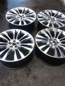 BRAND NEW  TAKE OFF  LINCOLN MKX  2016 FACTORY OEM 21 INCH  ALLOY WHEELS WITH SENSORS.   NO CENTER CAPS.