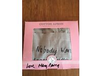 Signed by Mary Berry, great Easter gift,new and boxed goose print apron