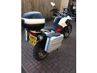 BMW 650 GS , full history, panniers, top box, heated grips 2011 (61) might PX
