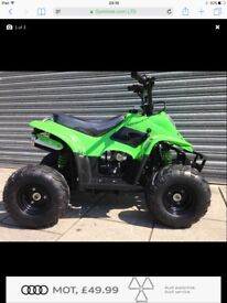 Raptor kids quad new 110cc quad bike