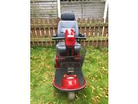 Red freerider 3 wheeled disability scooter