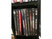 Collection of wrestling dvds