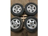 LAND ROVER DISCOVERY TD5 SET OF 4 TYRES AND RIMS 255/65R16