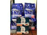 Purina One Bifensis Premium Cat Food 12kg (4 x 3kg)