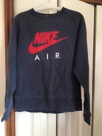 Men's vintage Nike air jumper small