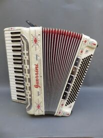 Guerrini accordion Polka King Special 630 Musette.Hand made reeds,seasoned hardwood construction.