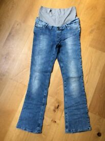 Pregnancy jeans/trousers/skirts (size: 12 UK / 38 D)