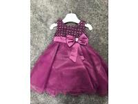 2-3 purple bridesmaid dress