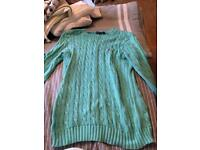 Women's Ralph Lauren Cable Knit Jumper