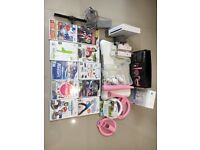 Nintendo Wii Console, Games, Wii Fit Board & Accessories