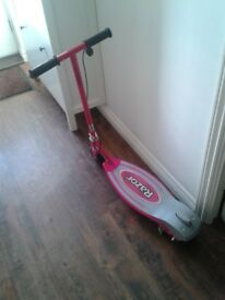 Razor E90 Pink Electronic Scooter