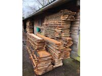 Growing selection of live edge hardwood slabs