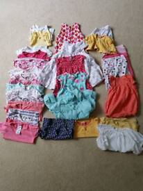 Girl's 12-18 summer clothes bundle