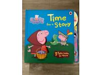 Peppa Pig themed story books