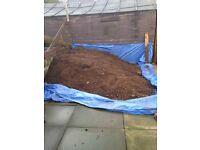 Free topsoil/backfill