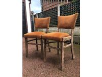 Matching Pair Of Vintage / Antique Chairs - Vintage Bedroom Chairs